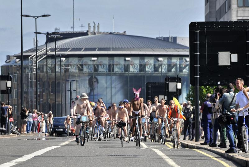 London Naked Bike Ride [safe version]
